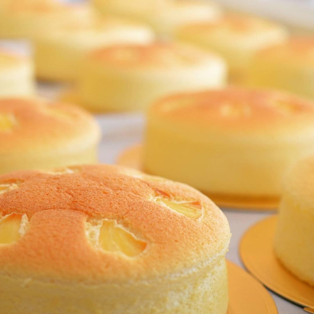 自慢のチーズケーキ